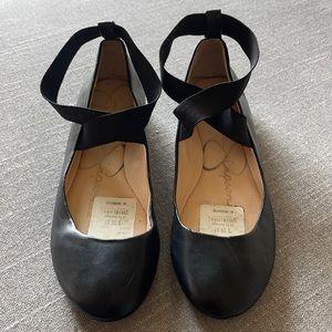 Jessica Simpson black ballet flat Size 9 1/2